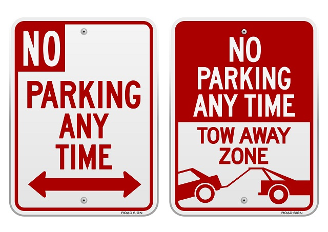 Road and Parking Signs for Your New Commercial Office Building
