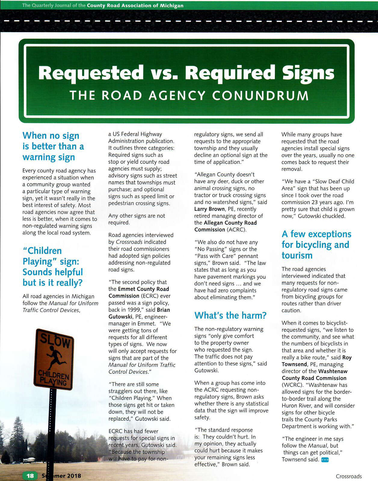 Requested Vs Required Signs Dornbos Sign Safety Inc