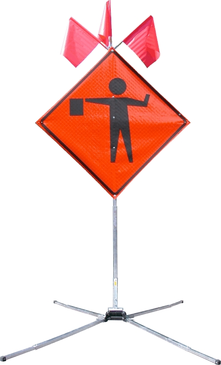 flagger sign