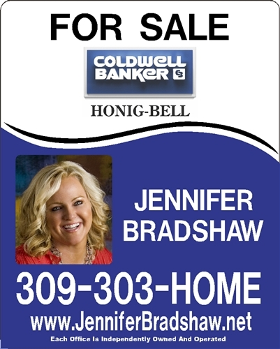 Custom Reflective Real Estate Signs